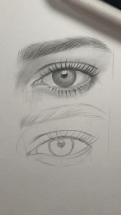 drawing eyes step by step realistic ~ drawing eyes ; drawing eyes step by step ; drawing eyes step by step easy ; drawing eyes step by step realistic Easy Pencil Drawings, Dark Art Drawings, Realistic Drawings, Art Drawings Sketches, Disney Drawings, Eye Pencil Drawing, Drawings Of Eyes, Indie Drawings, Sketches Of Eyes