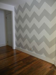 Slightly obsessed with the chevron pattern. Thinking of doing this in my basement.