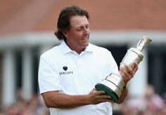 Love my Phil!!!  Phil Mickelson thrills his way to British Open victory - Yahoo! Sports