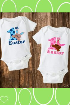 Baby First Easter Outfit, Baby Easter Outfit, First Easter Onesie, First Easter Boy, First Easter Girl #ad
