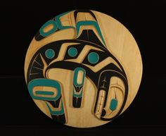 Killerwhale panel by Erich Glendale.  Northwest coast & First Nations fine art at Ahtsik Native Art Gallery.