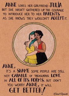 Anne and Julia by Carol Rossetti