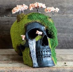 Jack Of The Dust: Andrew Firth Turns Skulls Into Creepy, Lush Landscapes