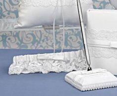 Liga blanca para novia