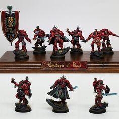 Space Marine Blood Angel Squad - Children of Baal