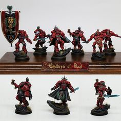 Space Marine Blood Angel Squad - Children of Baal