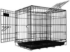 Pet Tek DPK86002 Dream Crate Professional Series 200 Dog Crate, 24 by 18 by 20-Inch, Black - http://www.thepuppy.org/pet-tek-dpk86002-dream-crate-professional-series-200-dog-crate-24-by-18-by-20-inch-black/