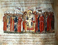 Death of the Byzantine Emperor Theophilus. The Byzantine Empire's ban on the veneration of icons died with its last iconoclast emperor on January makes a proclamation, the Scylitzes Chronicle, century. Hotel Transylvania 2012, Abbasid Caliphate, Meanwhile In Russia, Roman Names, Sassanid, 11th Century, Ottoman Empire, Illuminated Manuscript, Byzantine