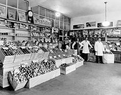 BC goodies at the Victoria Produce Co., 1743 Commercial, in 1932.