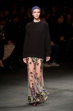 Défile Givenchy Prêt-à-porter Automne-hiver 2013-2014 - Look 48