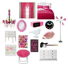 """""""My Room In Middle School(1st-7th Grade)"""" by youngthewiser ❤ liked on Polyvore featuring interior, interiors, interior design, home, home decor, interior decorating, Xhilaration, Jonas Damon, Jonathan Adler and Room Essentials"""