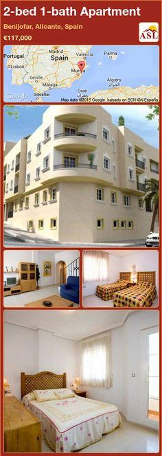 2-bed 1-bath Apartment in Benijofar, Alicante, Spain ►€117,000 #PropertyForSaleInSpain