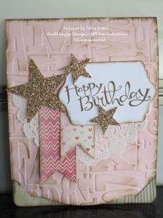 Stampin' Up! Birthday by Delia