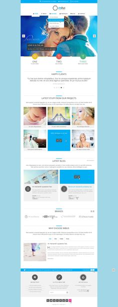 imbus - Simple PSD Template   #design #webdesign #template #web #graphic #psd #photoshop #website #creative #flat #flatdesign #metro #modern #homepage #style #cool #creative
