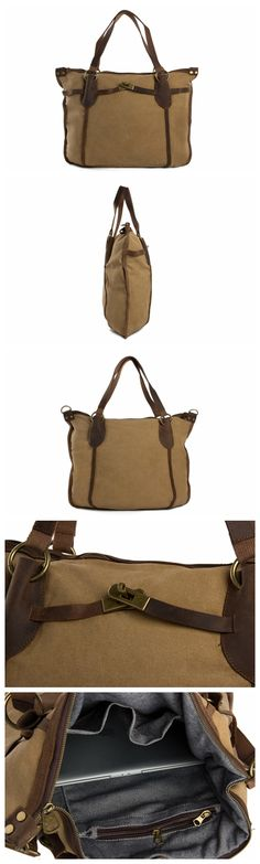 d0925290d3dd 10 Best bags images | Artificial leather, Briefcases, Canvas leather