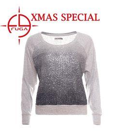 Wir verlosen 3x den Pailletten-Pullover Vany, passend zur funkelnden Weihnachtszeit!   Teilt diesen Post und schickt uns bei Facebook eine Nachricht mit Eurer Konfektionsgröße!!!