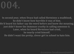 Dramione Headcanon