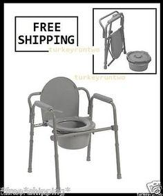 handicap Adult size potty chair porta