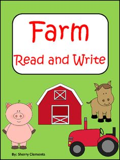 Farm Read and Write (Reading Comprehension) from Dr. Clements' Kindergarten on TeachersNotebook.com -  (5 pages)  - Farm Read and Write