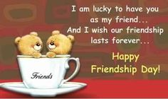 Happy Friendship Day Quotes _ Friendship Day Wishes, Messages - My Wishes Club When Is Friendship Day, Happy Friendship Day Picture, Happy Friendship Day Messages, Friendship Day Cards, Friendship Day Wallpaper, Happy Friendship Day Images, Friendship Day Greetings, Friendship Wishes, Friendship Quotes