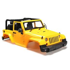 33.92$  Watch here - http://ali5d4.worldwells.pw/go.php?t=32706555515 - Brand New 1/10 RC Remote Control Truck Hard Body Shell Canopy Rubicon Topless For SCX10/D90