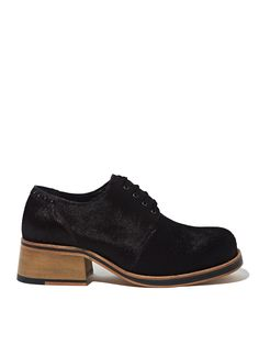 Kult Domini Womens Pony Leather Brogue Shoes