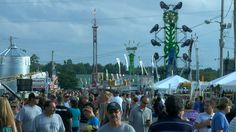 canfield fair...one of the best and largest in ohio and going stronger every year