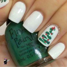 unas disenos navidad, , nail design