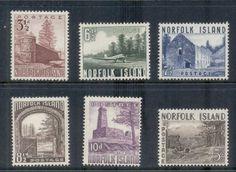 Norfolk Is 1953 Pictorials MUH