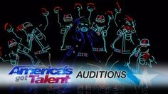 Light Balance: Dancers Light Up The Stage And Earn The Golden Buzzer – America's Got Talent 2017