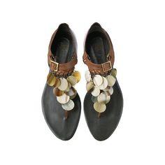 ロジェ・ヴィヴィエ (ROGER VIVIER) - サンダル - 3857ファッションアイテムのカタログ検索 | VOGUE.COM ❤ liked on Polyvore featuring shoes, sandals, flats, sandals / flats., zapatos, flat shoes, flat pump shoes, roger vivier flats, roger vivier sandals and roger vivier shoes #rogerviviersandals #rogerviviershoes