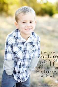How to Capture a Natural Smile when Taking Pictures of Kids - Capturing Joy with Kristen Duke