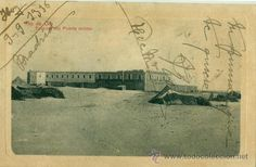 SAHARA ESPAÑOL. RIO DE ORO.VILLA CISNEROS. EXTERIOR DEL FUERTE MILITAR. CIRCULADA EN 1916. MUY RARA. - Foto 1
