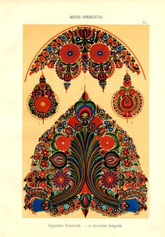 Magyar ornament, Hungarian  ornament, ethnical sewing, needlework, stitching,