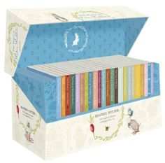 Complete Beatrix Potter Set, $126. Would love to have this for Baby K.