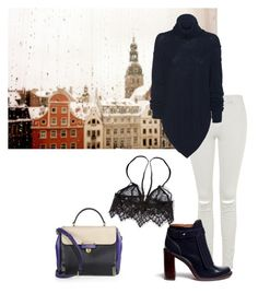 """""""Untitled #133"""" by fashpolyvore on Polyvore featuring Marc by Marc Jacobs, Topshop, For Love & Lemons and Tory Burch"""