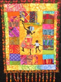 journal quilt by Gwen Maxwell-Williams
