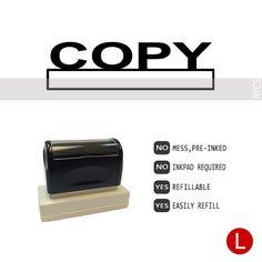 COPY, Pre-Inked Office Stamp, 760310-C