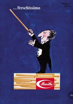 Barilla: Fresh, Very Fresh poster by Herbert Leupin (1965). #cuisine  @typechap  via @wayneford