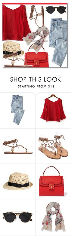 """""""#11"""" by aida-nurkovic ❤ liked on Polyvore featuring Wrap, Dolce&Gabbana, Christian Dior and Scialle"""