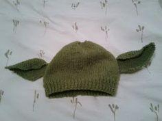 Yoda/Dobby hat free pattern
