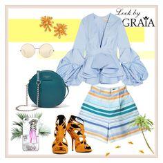 Cuba by grahovskaya on Polyvore featuring мода, Johanna Ortiz, Giuseppe Zanotti, Dolce&Gabbana and Victoria Beckham