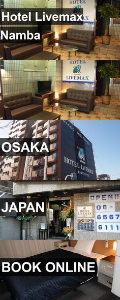 Hotel Livemax Namba in Osaka, Japan. For more information, photos, reviews and best prices please follow the link. #Japan #Osaka #travel #vacation #hotel
