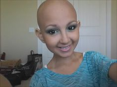 Talia Castellano, 13-year-old  , diagnosed with neuroblastoma in 2007 and now running a youtube channel for makeup tutorials.