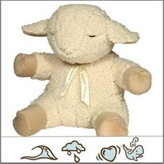 Sleep Sheep soothing sounds will help your preschool child with autism fall asleep.  Choose from the ocean, rain, heartbeat or whale songs. $27.95