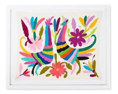 Framed Otomi Art - Large
