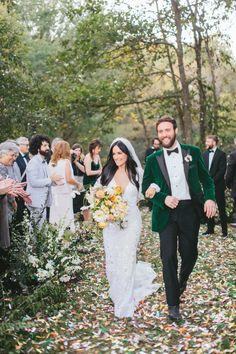 Kacey Musgraves and Ruston Kelly wedding. October 2017. (Credit: Natalie Barrett / NBarrett Photography)