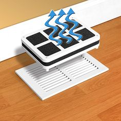 Avoid dry air. Simply add tap water and the slim, portable vent humidifier's natural evaporation process fills your home with clean, filtered, moisturized air, making it easier to breathe and helps restore moisture to dry, itchy skin. Fits neatly over floor vents, registers, or beside baseboard heaters.    #BOGO