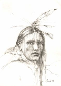 Native American sketches | ... completely different…Native American Pencil Portraits | eastwitching