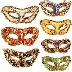 10PC/LOT Different Colors Half Masquerade Venetian Masks ... http://www.amazon.com/dp/B00MEE6784/ref=cm_sw_r_pi_dp_EEOpxb1KVM37A